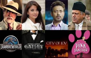 Match the Bollywood actors and their Hollywood movies.