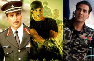Match these Akshay Kumar movies with character names.