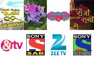 Match these TV shows and channels.