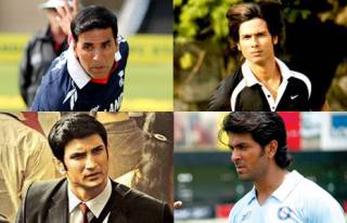 Match these Bollywood actors with their cricket based movies.