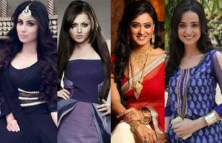 Match these actresses with their debut TV shows.