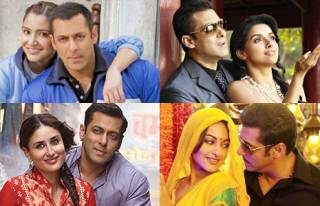 Match Salman Khan's co-actresses with their movies
