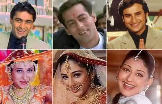 Match these Hum Saath Saath Hain couples.