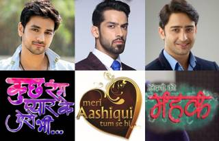 Match these lead actors with their TV shows.