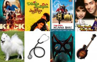 Match these props with its correct films