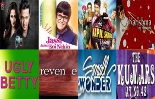 Match these TV shows which are coiped from Hollywood series