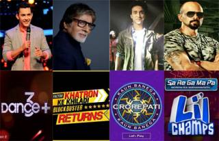 Match these TV hosts with their shows