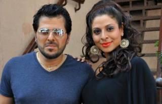 Tanaaz and Bakhtiyaar Irani