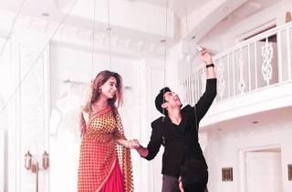 Sara Khan and Manish Raisinghan