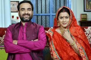 Pankaj Tripathi and Purva Parag