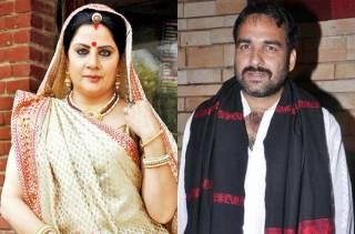Alka Kaushal and Pankaj Tripathi