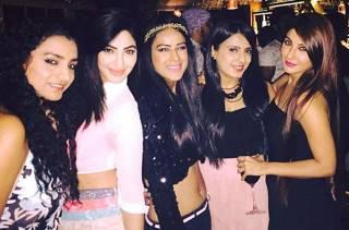 Jamai Raja beauties Nia Sharma, Amrin Chakkiwala, Esha Chawla, Reyhna Malhotra and Shagun Ajmani