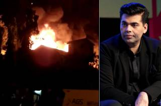 Dharma Productions'  godown  in Goregaon caught fire