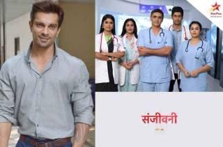 Karan Singh Grover gives an epic reaction to Surbhi Chandna starrer Sanjivani 2 teaser