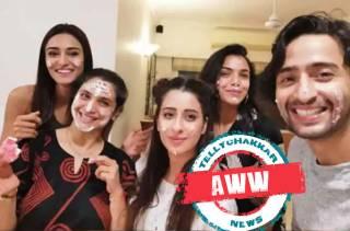 AWW! This is how Kuch Rang Pyaar Ke Aise Bhi's Shaheer Sheikh and Erica Fernandes celebrated 'maa' Supriya Pilgaonkar's birthday