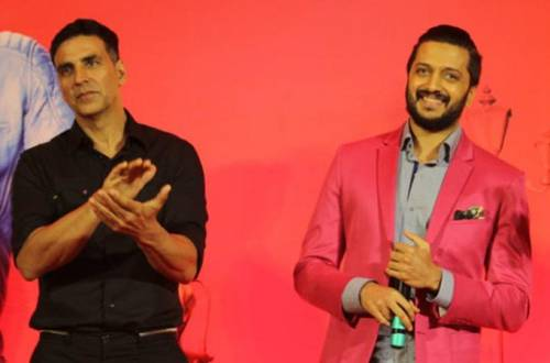 Riteish Deshmukh speaks about his equation with Housefull 4 co-star Akshay Kumar