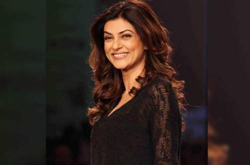Sushmita Sen announces her comeback on big screen after 10 years