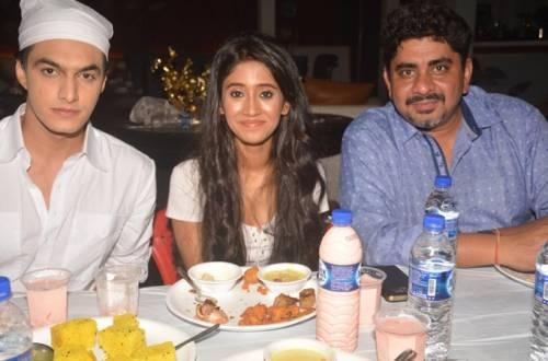 Mohsin Khan, Rajan Shahi and pretty Shivangi Joshi