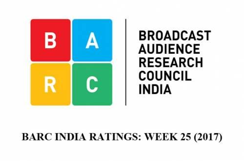BARC India Ratings Week 25 (2017)