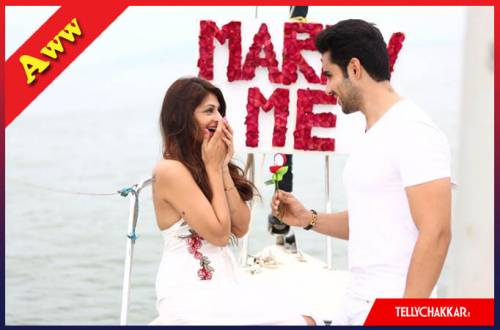 Abhishek Bajaj's a dreamy proposal for girlfriend Akanksha Jindal is stuff love stories are made of