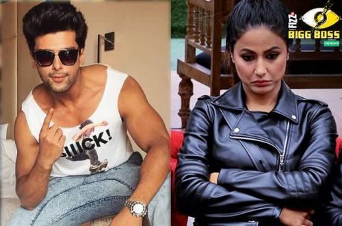 Kushal Tandon & Hina Khan