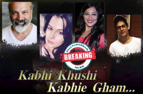 Bijay Anand, Geetanjali Tikekar, Ritu Vij & Manraj Singh in Kabhi Khushi Kabhi Gham's remake