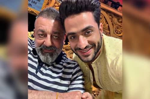 Nach Baliye 9's Aly Goni has a fanboy moment with Prasshthanam's Sanjay Dutt