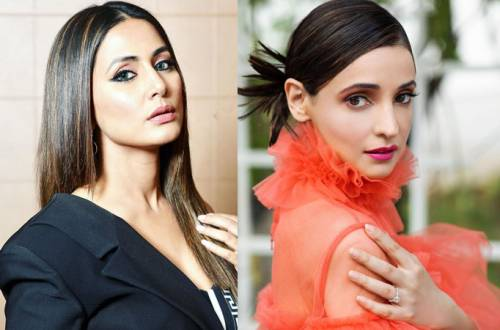 Hina Khan PROMOTES Sanaya Irani's upcoming film!
