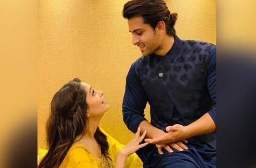 Dipika Kakar and Shoaib Ibrahim go the SRK and Kajol way