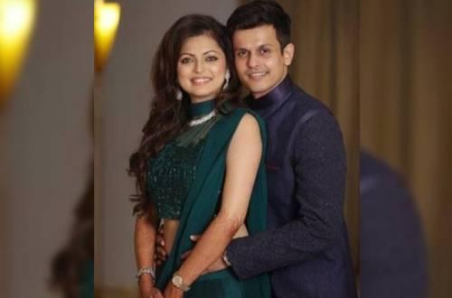 Drashti Dhami and Neeraj Khemka's fun moment; check out their goofy grin