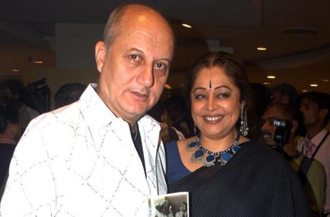 Anupam and wife Kirron Kher in a film for the first time together