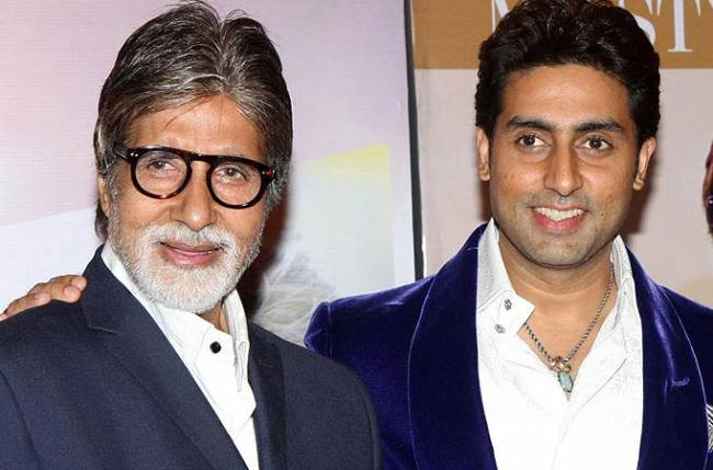 Image result for abhishek bachchan father