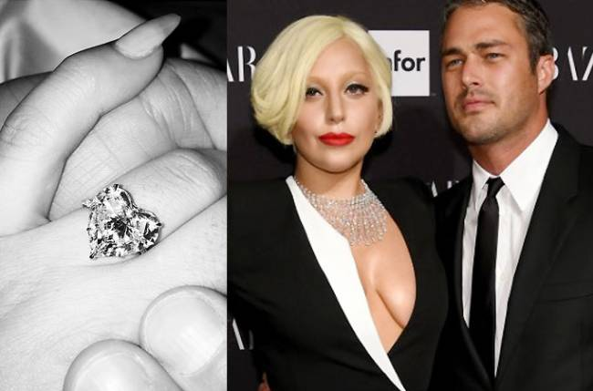 lady gaga engaged to taylor kinney