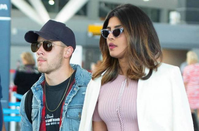 Nick Jonas and his parents arrive in Mumbai for engagement bash