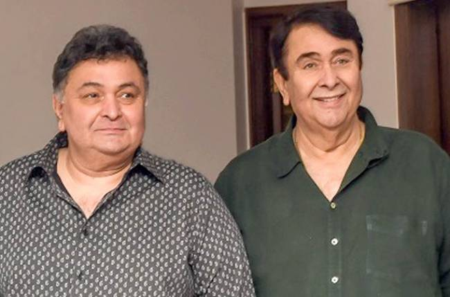 Randhir Kapoor breaks silence on reports that Rishi Kapoor has cancer