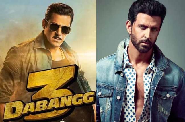 Dabaang 3 to bring Salman Khan and Hrithik Roshan together