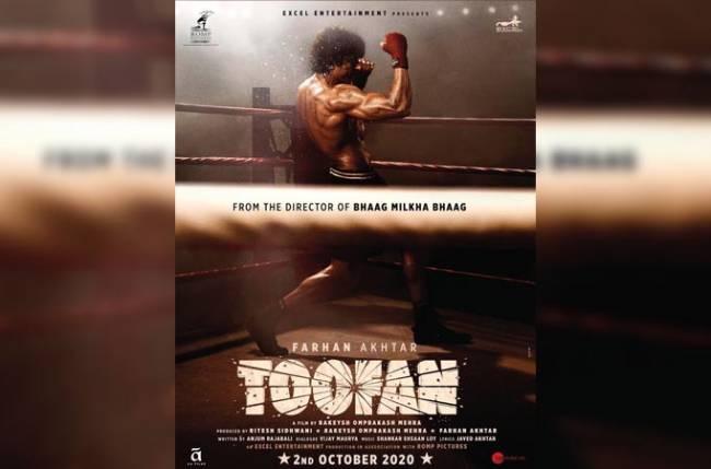 Toofan first look: Farhan Akhtar packs a punch