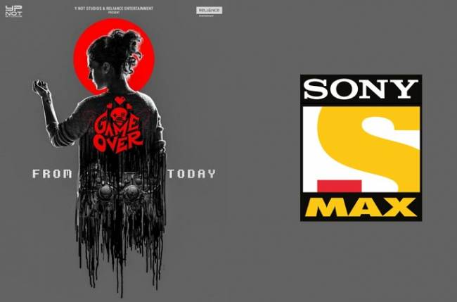 Game Over To Make Its World Television Premiere On Sony Max