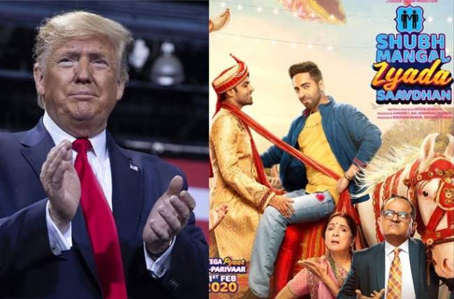 Trump hails gay Bollywood movie as 'great', United States News & Top Stories