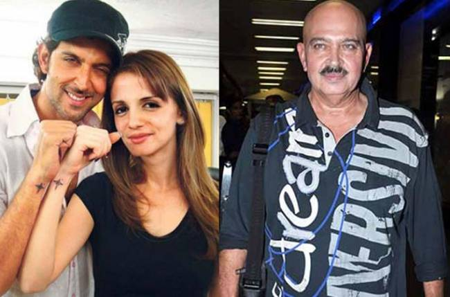 Rakesh Roshan hails Sussanne for moving in with Hrithik
