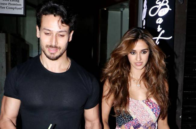 Uff: Disha Patani can't get enough of Tiger Shroff