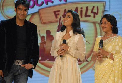 Ajay, Kajol and Tanuja form 'Rock and Roll Family' jury