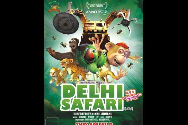 Delhi Safari movie