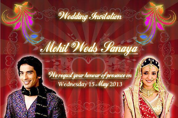 Wedding Bells For Mohit Sehgal And Sanaya Irani