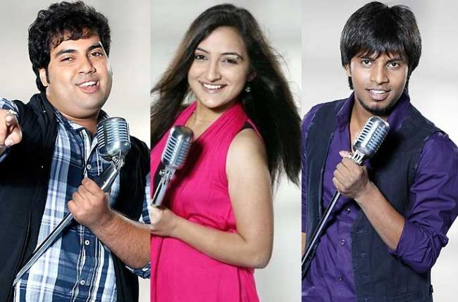 Idols Vipul, Amit and Poorvi to join the juniors for a