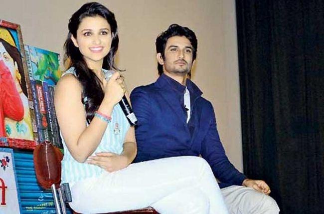 Parineeti Chopra and Sushant Singh Rajput on Sony TV's