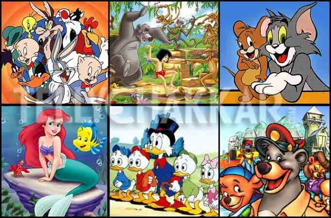 kid shows in the 90s
