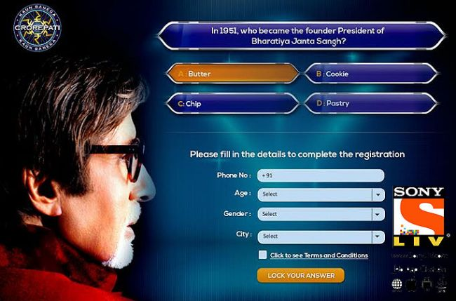 Sony LIV now brings to you multiple options to register and be a