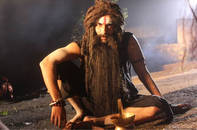Danish Pandor disguises as an Aghori in Agent Raghav
