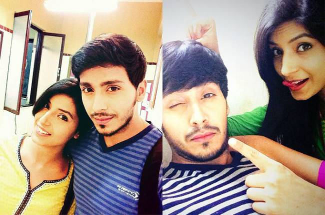 'Must See' Twitpics of Randhir and Sanyukta